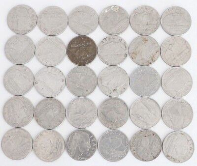 20 Centesimi Italy 1939-1943 Coin Lot Of 30 World Foreign Combined Shipping C65