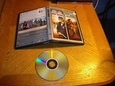 Man In The Wilderness/The Deadly Trackers (DVD, 2008)