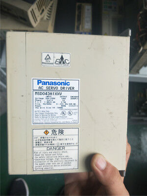 1PC USED Panasonic MSD043A1XXV Servo Driver In Good Condition #P1237 YL