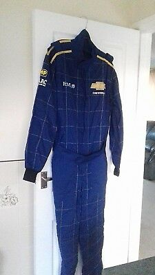 Racing Mechanics Suit Overalls Chevrolet Goodwood Revival Size 56 New Condition
