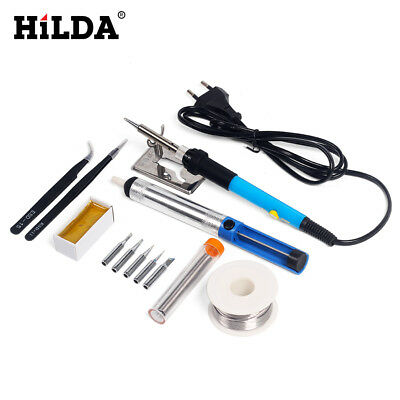 Soldering Iron Micro Precision Tips Set Solder tin rosin Repair tool hobby DIY