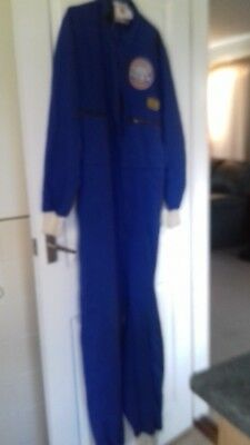 Vintage Racing Driver Suit Mechanics Overalls Goodwood Revival Size Medium