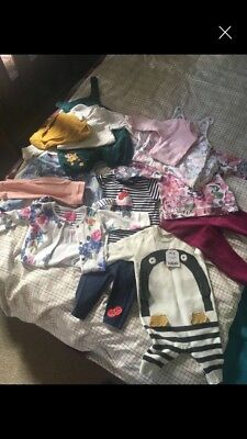 baby girl clothes bundle 3-6 months old