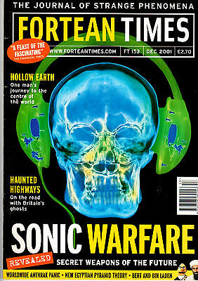 Fortean Times Magazine Issue 153 December 2001