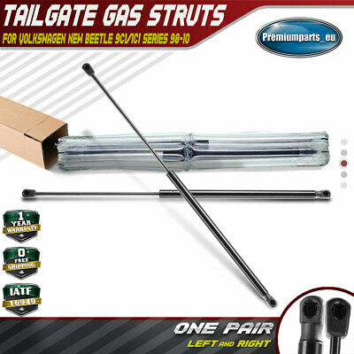 2x Tailgate Rear Boot Gas Struts for Volkswagen New Beetle Hatchback 1998-2010