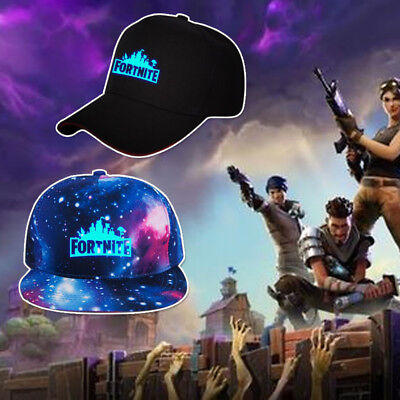 4bdca82b00e Boys Girls Fortnite Baseball Cap Outdoor Sports Adjustable Hat Logo Glow In  Dark