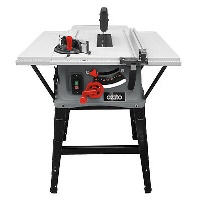 Table Saw Ozito 250mm Dust Extraction Large 2000W Motor Safety Guard 3YR WTY