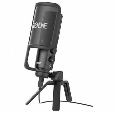 Rode NT USB Condenser Microphone With Pop Filter & Desktop Stand FAST  POST