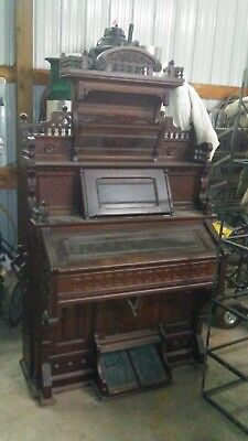 Vintage  Antique Pump Organ Kimball Co.