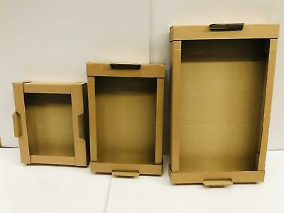 Brown Cardboard Delivery / Bakery Cake Tray Pack of  25 - 3 Sizes - Free P&P