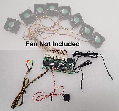 THERMAL Management Kit for Server System Support 8x Fans