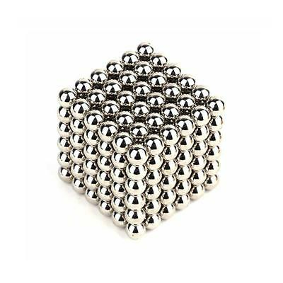 Kids Adult 216PCS Magic Magnetic DIY Balls Magnet  Bead Cube Sphere Neodymium