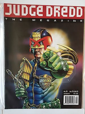 JUDGE DREDD THE MEGAZINE #20 JANUARY 2005 2000AD Near Mint Condition