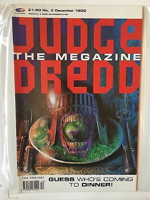 JUDGE DREDD THE MEGAZINE #3 DECEMBER 1990 2000AD Near Mint Condition
