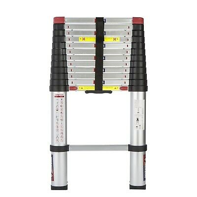 Spear and Jackson 3.8m (12.6 ft) Telescopic Ladder MKII