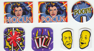 Theatre of Magic Pinball Machine Target Decal Set