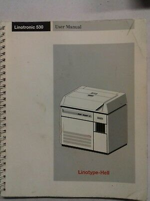 Linotype-Hell Linotronic 530 user manual