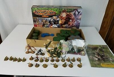 HEROSCAPE Master Set 2 SWARM OF THE MARRO Game Missing 1 Combat Die 1 Army Card