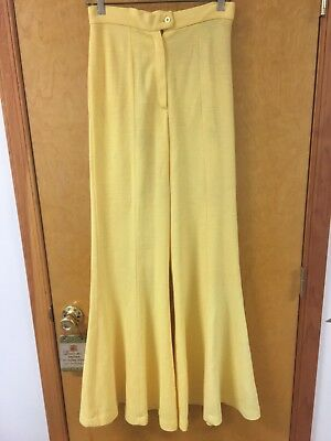 Ladies Vintage Bell Bottom Pants Sz 11 Pixie Made In USA