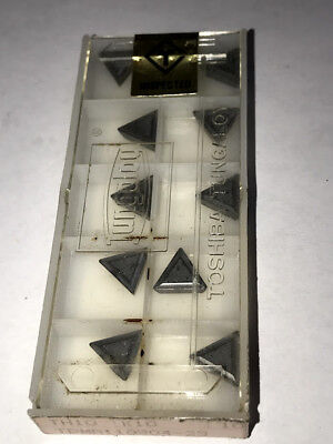 10 pcs NEW, UNOPENED TUNGALOY CARBIDE INSERTS TPGN221-23 TH10