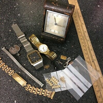 Job Lot Antique Vintage Watch/ Clock / Parts/ Art Deco