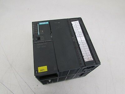 Siemens 6Es7313-6Ce01-0Ab0 S7-300 Cpu 313C-2 Dp Processor Unit Nice Takeout M/O!