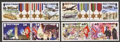 ISLE OF MAN SG641-648 1995 END OF WWII 50th ANNIVERSARY Unmounted Mint