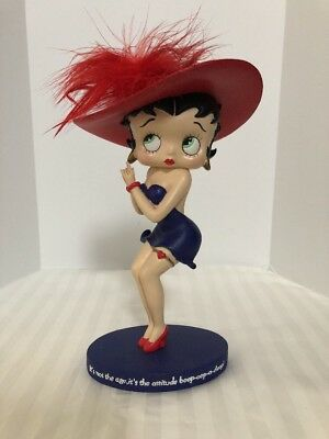 Betty Boop 2004 It's Not The Age Figurine by Westland Giftware Numbered  6972 A4