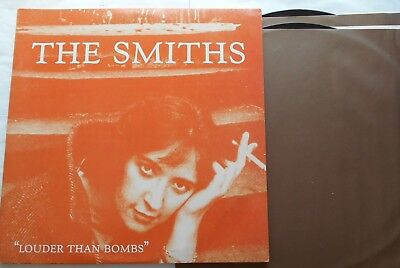 @THE SMITHS Louder Than Bombs NM- CANADA ORIG 1987 SIRE 92 55691 CR 2 LP