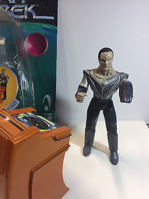 STAR TREK Figuren selten CARDASSIAN SOLDIER Action Figure Warp Factor Series 2