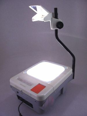 Elmo HP-L3550H Overhead Transparency Projector Tested Art-School Free Ship