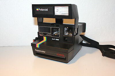 Polaroid Sofortbildkamera  Super Color 635 CL
