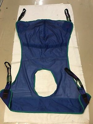 Hoyer Sling With Commode Opening (Medium)