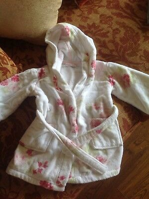 White Company Dressing Gown 12 To 18 Months