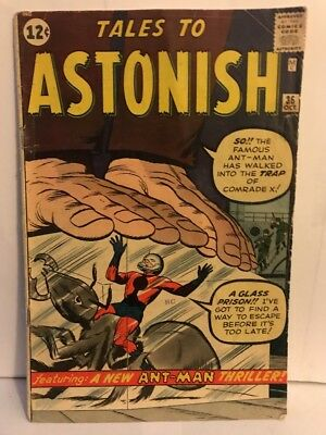 Vintage Tales To Astonish Ant-Man Comic Book.