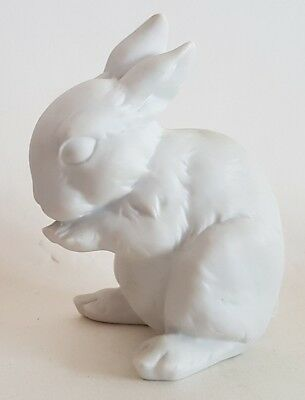 VINTAGE BISQUE BABY RABBIT by Kaiser, West Germany