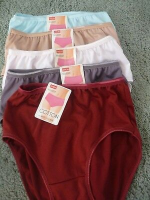 ladies/teenagers full knickers shiny cotton 6-8 / 8-10 small only left