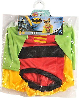 Rubies Costume Teen Titans Pet Dog Costume Robin Size Small