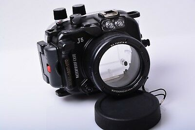 40m Underwater Housing Scuba Dive Diving Camera Case for Nikon-1 J1 nikon1 w07