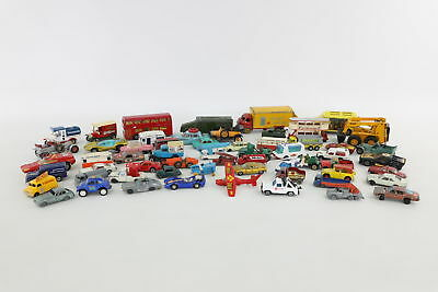 Job Lot 50x Assorted Die-cast Cars Toy Models inc Corgi, Dinky, Days Gone