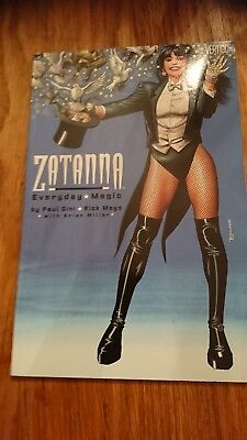 Zatanna everyday magic one shot DC vertigo