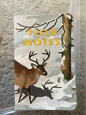 Field Notes Brand Book Custom Painted