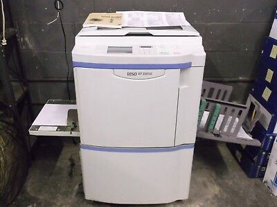 Riso RP3105 High Speed Digital Duplicator 11x17 EXCELLENT PRINTS Parallel Print