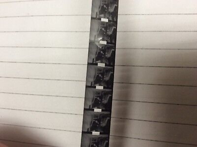 Vintage 9.5mm silent film x 4 and 1 x 8mm