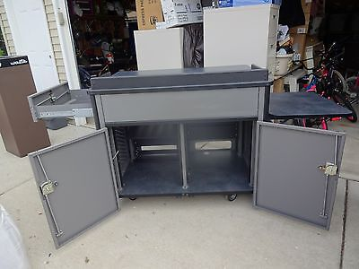 Spectrum Industries Media Manager Lectern Dj Storage Cabinet Local Pickup Lot B
