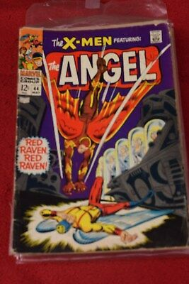 THE  X-MEN  no 44 MARVEL COMIC  may 1968 *