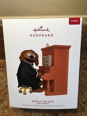 2018 HALLMARK Rowlf The Dog Magic Sound The Muppets Keepsake Ornament NEW