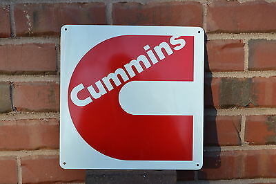 CUMMINS Diesel Red Sign Ram Dodge Truck Turbo Repair Shop Mechanic Garage 4x4