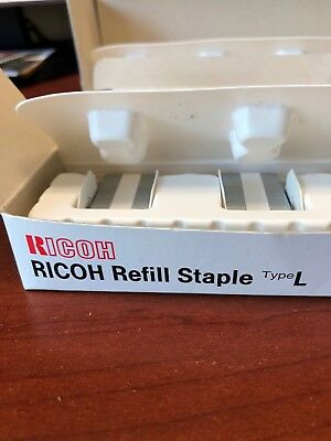 411241 181R-AM GENUINE OEM RICOH REFILL STAPLES TYPE L 6 Total
