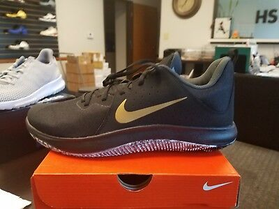 29c673c1009 Brand New Nike FLY BY LOW MENS BASKETBALL SHOES 908973-090 SIZE 12 BLACK
